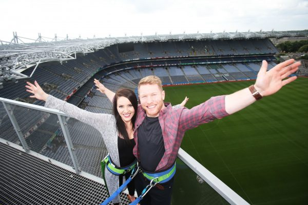 Promotion of the Ericsson Skyline Tour at Croke Park