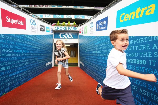 Promotion of the Stadium Tour at Croke Park